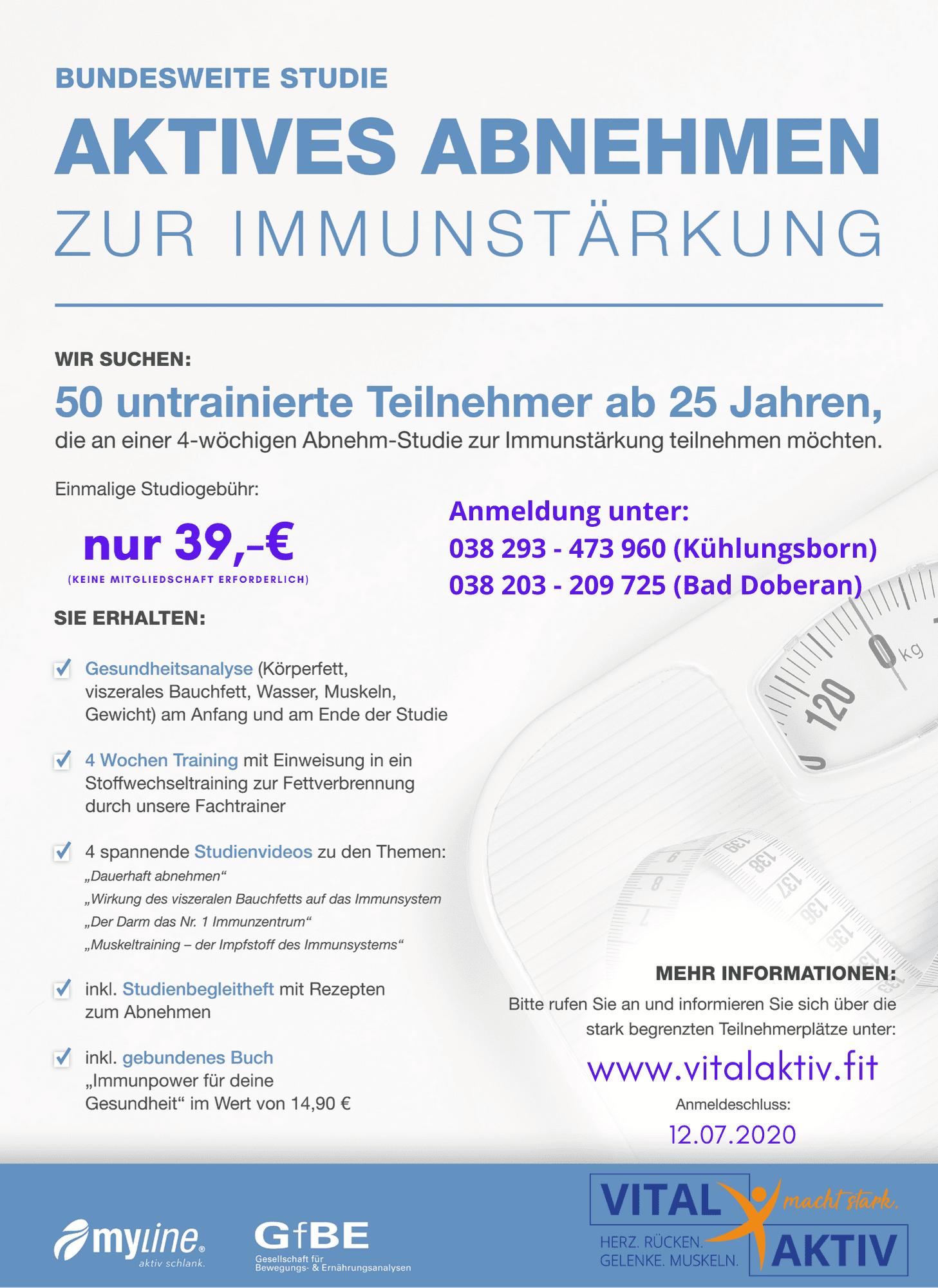 Studie Abnehmen zur Immunstärkung