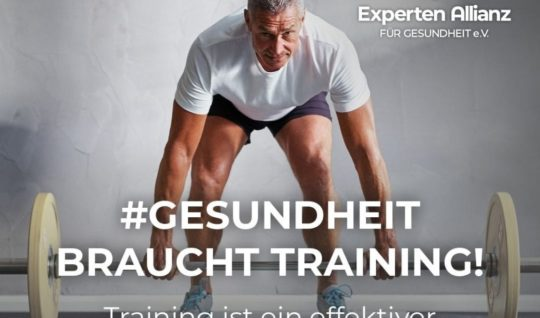 Gesundheit braucht Training 1