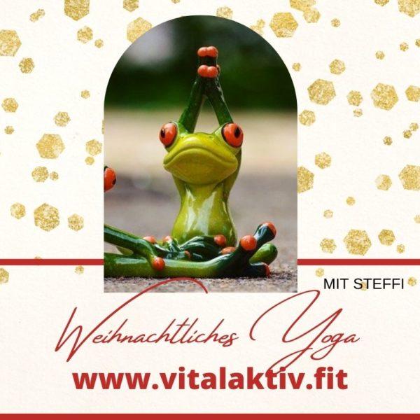 FB-Post Weihnachtliches Yoga